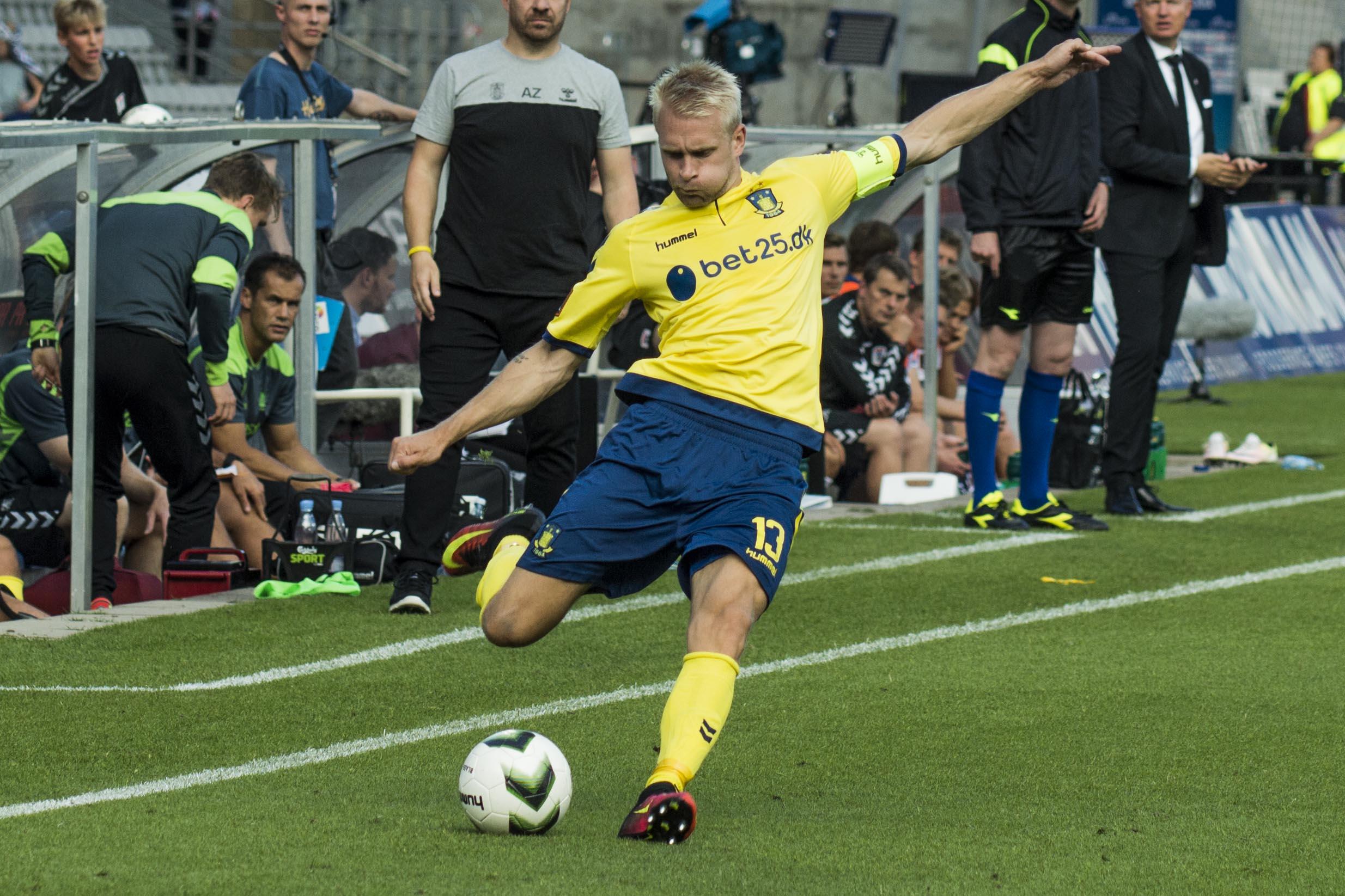 Johan Larsson er færdig i Brøndby IF