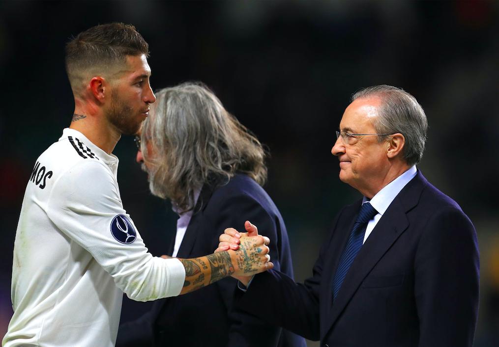 Uenighed mellem Real Madrid-profil og klubben