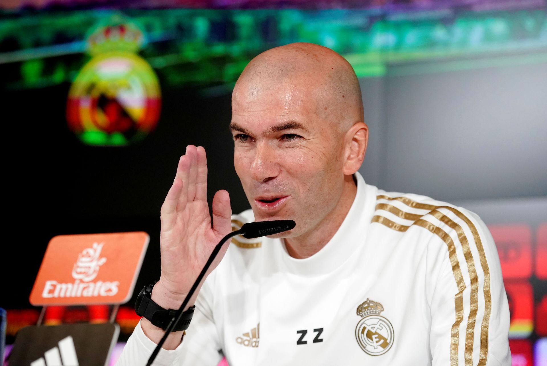 Zidane roser Guardiola før møde