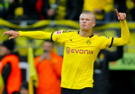 Håland bragede Dortmund til sejr